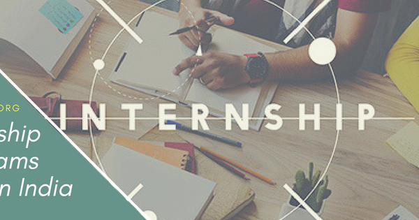 Internship programs 2018 in India