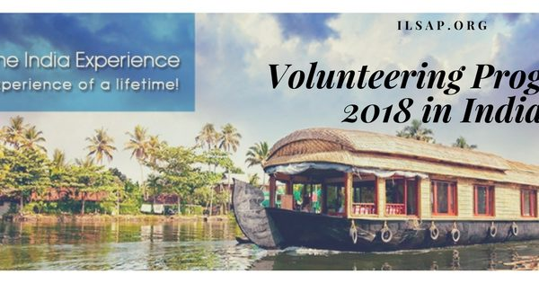 Volunteering Programs 2018 in India